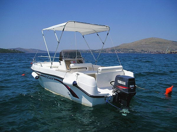Bootsverleih Kroatien Dalmatien Trogir - Elan 18 cc
